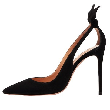 Black Cut Out Heels Inspired By Meghan Markle