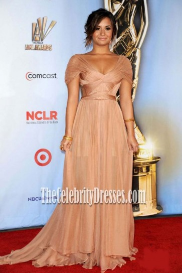 Demi Lovato Prom Evening Prom Dress 2011 ALMA Awards