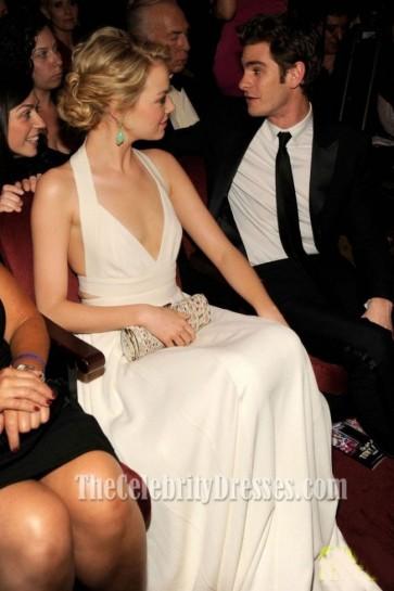 EMMA STONE Halter Evening Dress 66th Annual Tony Awards
