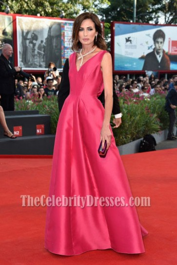Nieves Alvarez Formal Dress 2014 Venice Film Festival Opening Red Carpet