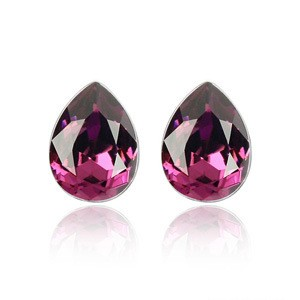 Swarovski Element Stud Earrings Happy Mood TCDE0079