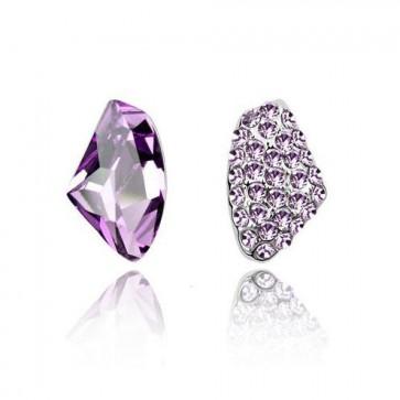 Women's Accessories Triangle Earrings Asymmetric Stud Earrings  1