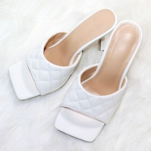 Women's Faux Leather Open-toe Sandals