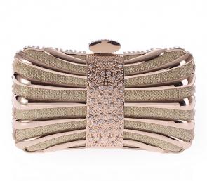 Celebrity Inspired Luxurious Alloy Women Bag Clutch TCDBG0080