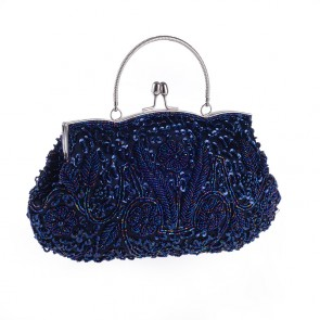 Girls Handmade Beading Bags Women Retro Evening Handbag Brides Clutch Bag TCDBG0120