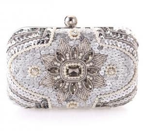 Popular Gorgeous Fashion Diamond Beaded Clutch Hand Bag TCDBG0079