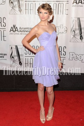 Taylor Swift Lovely Lavender Cocktail Party Homecoming Dresses