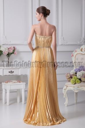 Celebrity Inspired Strapless Formal Prom Dresses