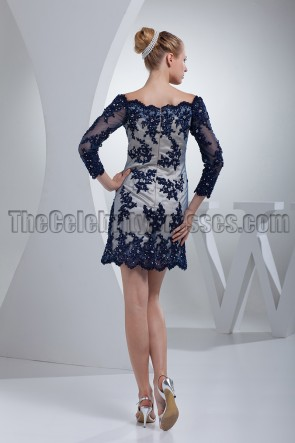 Chic Short / Mini Lace Long Sleeve Party Cocktail Dresses