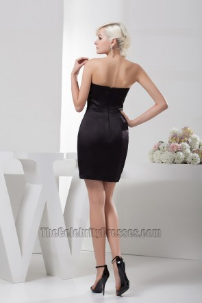 Chic Strapless Short Mini Party Cocktail Homecoming Dresses