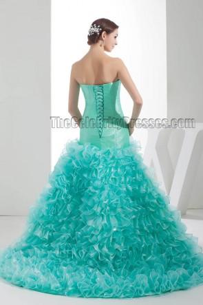 Stunning Trumpet /Mermaid Beaded Formal Evening Dresses