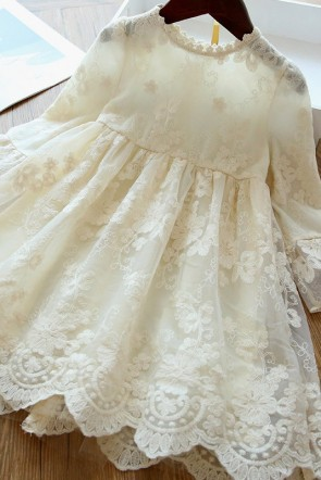 A-line Princess Flower Girl Dress