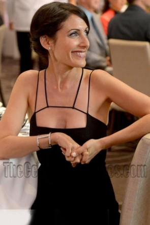 Abby's Girlfriends Guide To Divorce Cutout-Neck Sheath Little Black Dress