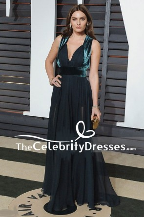Alyssa Miller Evening Prom Dresses Vanity Fair Oscar Party 2015