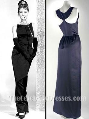 Audrey Hepburn ティファニーで朝食にオードリーヘップバーンブラックウエディングドレス