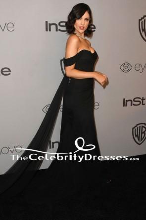 Eiza Gonzalez HBOのゴールデングローブ賞アフターパーティーイブニングドレス