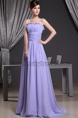 Celebrity Inspired Lavender Evening Prom Dress Formal Dresses