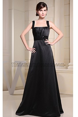 Celebrity Inspired Black Prom Dress Evening Formal Dresses