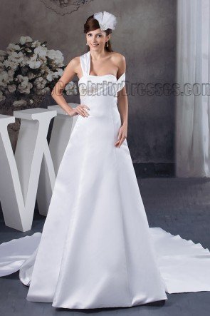 Chic Sweetheart A-Line Chapel Train Wedding Dresses