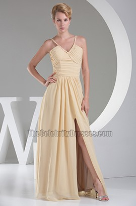 Discount V-Neck Bridesmaid Prom Evening Dresses