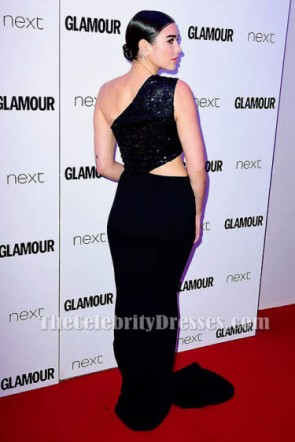 デュアリパブラックは、イブニングドレスのイブニングドレス2017グラマー女性をカットアウト