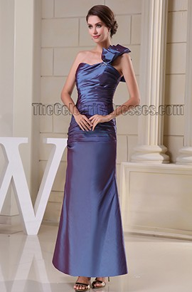 Elegant One Shoulder Formal Mother Of Bride Dresses