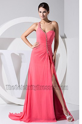 Elegant Long One Shoulder Sweetheart Prom Dress Formal Evening Gown