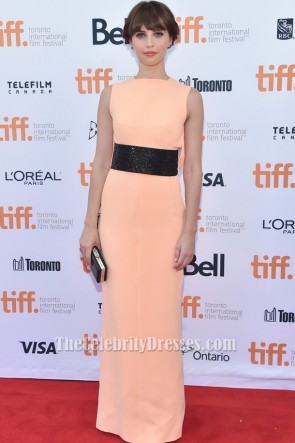 Felicity Jonesフォーマルドレス2014トロント国際映画祭