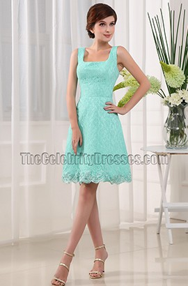 Cute Mini Lace Cocktail Homecoming Party Dresses