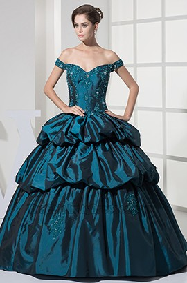 Off-The-Shoulder Ball Gown Quinceanera Formal Dresses