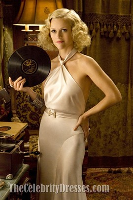 Reese Witherspoon Ivory Halter Evening Dress in the movieWater for Elephants
