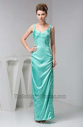Sheath/Column Floor Length Prom Gown Evening Formal Dresses