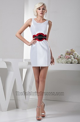 Sheath/Colunm Short Mini Party Homecoming Cocktail Dress