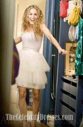 Sarah Jessica Parker Tulle Mini Party Dress Sex And The City Inspired Dresses