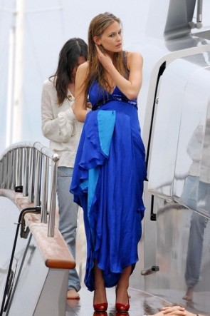 Bar Refaeli Royal Blue Dress 2008 Cannes TCD8867