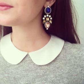 Bohemia Style Sparkling Gem Rhinestones Drop Earrings TCDE0052