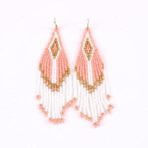 Bohemia Trend Measle Tassel Drop Earrings Women's Accessories TCDE0075