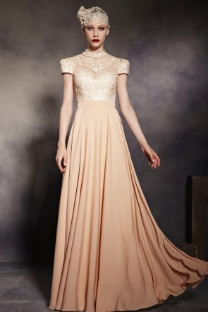 Celebrity Inspired A-Line Formal Dress Evening Prom Gown