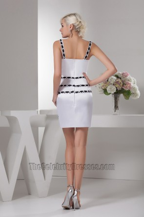 Chic Sheath/Column Party Graduation Homecoming Dresses