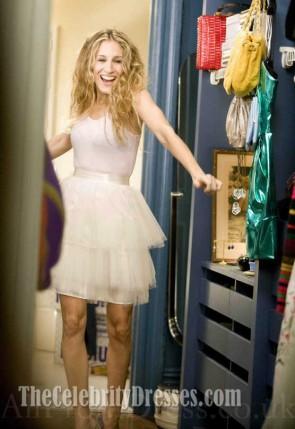 Sarah Jessica Parker サラジェシカパーカー チュールミニパーティードレスセックスとシティ風のドレス