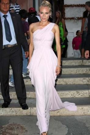 Diane Kruger One Shoulder Prom Dress 65th Venice Film Festival Dresses