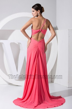Long One Shoulder Sweetheart Prom Dress Formal Evening Gown