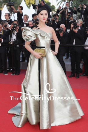 Fan Bingbing One shoulder Ball Gown 2018 Cannes Film Festival Red Carpet Dress