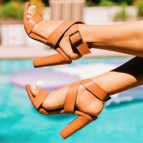 Fashon Women's Chunky Heels