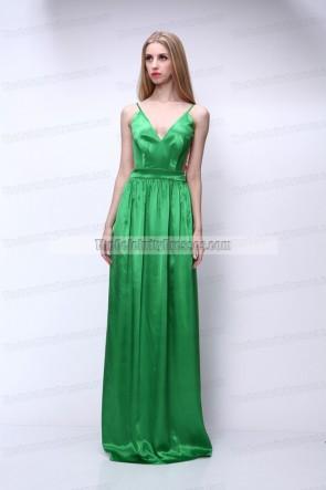 セレブ風の背中が大きく開いウエディングドレスイブニングドレス
