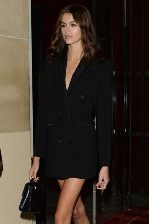Meghan Markle Little Black Dress With Long Sleeves