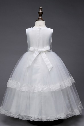 Layered Ruffles Flower Girl Dress