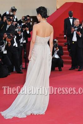 Li Bingbing 李ビンビンストラップレスのウェディングドレスカンヌ映画祭2011