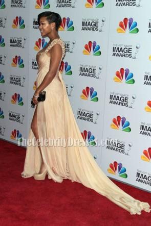 Meagan グッドイブニングドレス第43回NAACP画像賞
