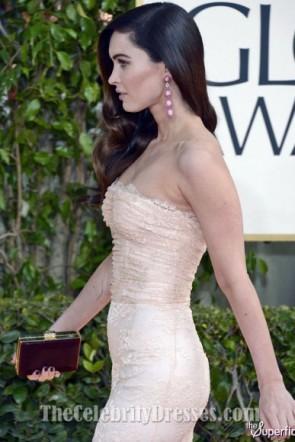 Megan Fox ミーガンフォックス ゴールデングローブ賞2013プロムフォーマルレッドカーペットドレス